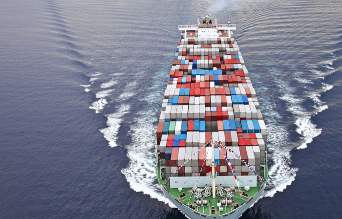International container shipping from USA to Europe